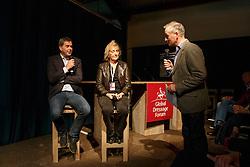 Van Olst Gert Jan, (NED), Luard Rowena, (GBR)<br /> Greatest Dressage Horses Ever, Valegro<br /> Global Dressage Forum<br /> Academy Bartels - Hooge Mierden 2015<br /> © Hippo Foto - Dirk Caremans<br /> 27/10/15