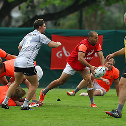 DURBAN, SOUTH AFRICA - SEPTEMBER 01: Fourie du Preez during the South African national rugby team training session at Peoples Park on September 01, 2015 in Durban, South Africa. (Photo by Steve Haag/Gallo Images)