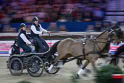 Exell Boyd (AUS)<br /> FEI World Cup Driving<br /> Flanders Christmas Jumping - Mechelen 2012<br /> © Dirk Caremans