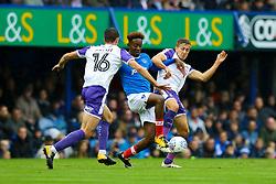 Will Vaulks of Rotherham United tackles Jamal Lowe of Portsmouth - Mandatory by-line: Jason Brown/JMP - 03/09/2017 - FOOTBALL - Fratton Park - Portsmouth, England - Portsmouth v Rotherham United - Sky Bet League Two