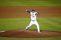 May 12, 2007: #41 Chin-hui Tsao pitches during the 6th inning as the Los Angeles Dodgers defeated the Cincinnati Reds 7-3 at Dodger Stadium in Los Angeles, CA.