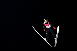 February 8, 2018 - Pyeongchang, SOUTH KOREA - 180208 Daniel AndrŽ Tande of Norway competes during the Men's Normal Hill Individual Qualification Trial ahead of the 2018 Winter Olympics on February 8, 2018 in Pyeongchang..Photo: Jon Olav Nesvold / BILDBYRN / kod JE / 160146 (Credit Image: © Jon Olav Nesvold/Bildbyran via ZUMA Press)