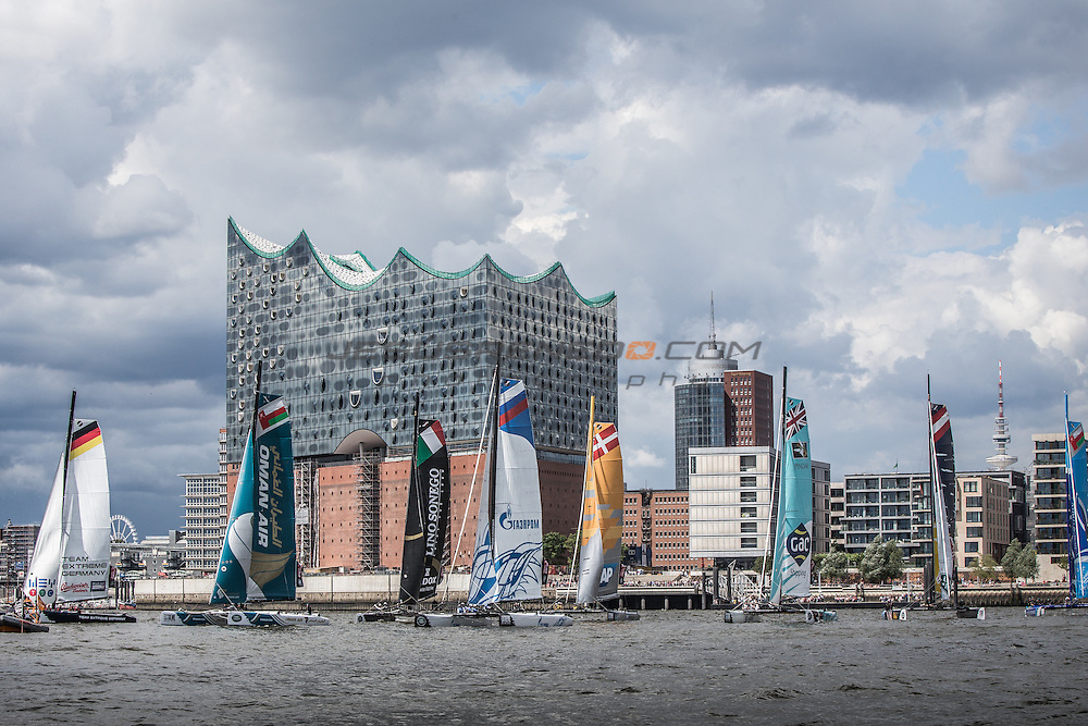 2015 Extreme Sailing Series - Act 5 - Hamburg<br />