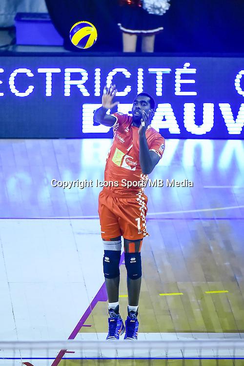 Gary GENDREY  - 19.12.2014 - Beauvais / Saint Nazaire - 12e journee de Ligue A<br />Photo : Fred Porcu / Icon Sport