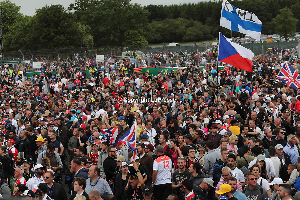 &copy; Photo4 / LaPresse<br /> 16/07/2017 Silverstone, England<br /> Sport <br /> Grand Prix Formula One England 2017<br /> In the pic: Atmosphere