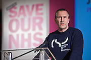 Jim FahieA physiotherapist and CSP member from Kent. This week as the governments controversial Health and Social Care Bill enters its final stages in the House of Lords, patients, health workers and campaigners are to come together on Wednesday for a TUC-organised Save Our NHS rally in Westminster. On Wednesday (7 March 2012) over 2,000 nurses, midwives, doctors, physiotherapists, managers, paramedics, radiographers, cleaners, porters and other employees from across the health service will join with patients to fill Central Hall Westminster. Once inside they will listen to speeches from politicians, fellow health workers, union leaders and health service users.