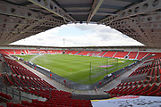 Doncaster Rovers Keepmoat stadium before the EFL Sky Bet League 1 match between Doncaster Rovers and Portsmouth at the Keepmoat Stadium, Doncaster, England on 25 August 2018.Photo by Ian Lyall.