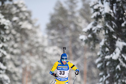 March 9, 2019 - –Stersund, Sweden - 190309 Sebastian Samuelsson of Sweden competes in the Men's 10 KM sprint during the IBU World Championships Biathlon on March 9, 2019 in Östersund..Photo: Petter Arvidson / BILDBYRÃ…N / kod PA / 92252 (Credit Image: © Petter Arvidson/Bildbyran via ZUMA Press)