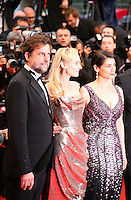 Nanni Moretti, Diane Kruger, Hiam Abbass,  attending the gala screening of Amour at the 65th Cannes Film Festival. Sunday 20th May 2012 in Cannes Film Festival, France.