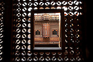 Egypt. Cairo : Ali EFFENDI LABIB  house - inside after renovation - in   the area of the  Mosque SULTAN HASSAN  . islamic Cairo  Cairo +