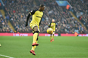 Burton Albion striker Marvin Sordell (17) controls the ball during the EFL Sky Bet Championship match between Aston Villa and Burton Albion at Villa Park, Birmingham, England on 3 February 2018. Picture by Richard Holmes.