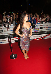 Myleene Klass..Arrivals on the red carpet at the MOBO Awards 2011 at the SECC on October 5, 2011 in Glasgow, Scotland..Pic © Michael Schofield.