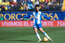February 3, 2019 - Villarreal, Castellon, Spain - Didac Vila of RCD Espanyol during the La Liga match between Villarreal and Espanyol at Estadio de la Ceramica on February 3, 2019 in Vila-real, Spain. (Credit Image: © Maria Jose Segovia/NurPhoto via ZUMA Press)