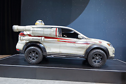 09 February 2017:  Nissan Rogue One Star Wars vehicle<br /> <br /> First staged in 1901, the Chicago Auto Show is the largest auto show in North America and has been held more times than any other auto exposition on the continent.  It has been  presented by the Chicago Automobile Trade Association (CATA) since 1935.  It is held at McCormick Place, Chicago Illinois<br /> #CAS17