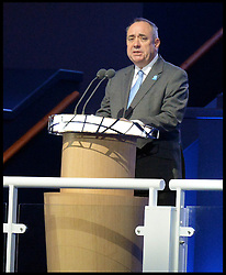 Image licensed to i-Images Picture Agency. 23/07/2014. Glasgow, United Kingdom. Alex Salmond  during the opening ceremony of  the Commonwealth Games in Glasgow.. Picture by Andrew Parsons / i-Images