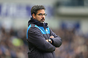 Huddersfield Town Head Coach, Manager, David Wagner during the Sky Bet Championship match between Brighton and Hove Albion and Huddersfield Town at the American Express Community Stadium, Brighton and Hove, England on 23 January 2016.