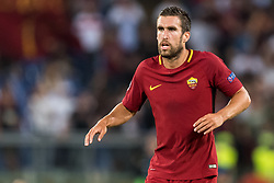 Kevin Strootman of AS Roma during the UEFA Champions League group C match match between AS Roma and Atletico Madrid on September 12, 2017 at the Stadio Olimpico in Rome, Italy.