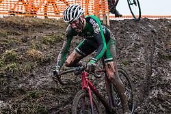RAFFERTY Darren (IRL) during Men Junior race, 2020 UCI Cyclo-cross Worlds Dübendorf, Switzerland, 2 February 2020. Photo by Pim Nijland / Peloton Photos | All photos usage must carry mandatory copyright credit (Peloton Photos | Pim Nijland)