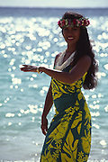 Hula Dancer, Hawaii, USA<br />