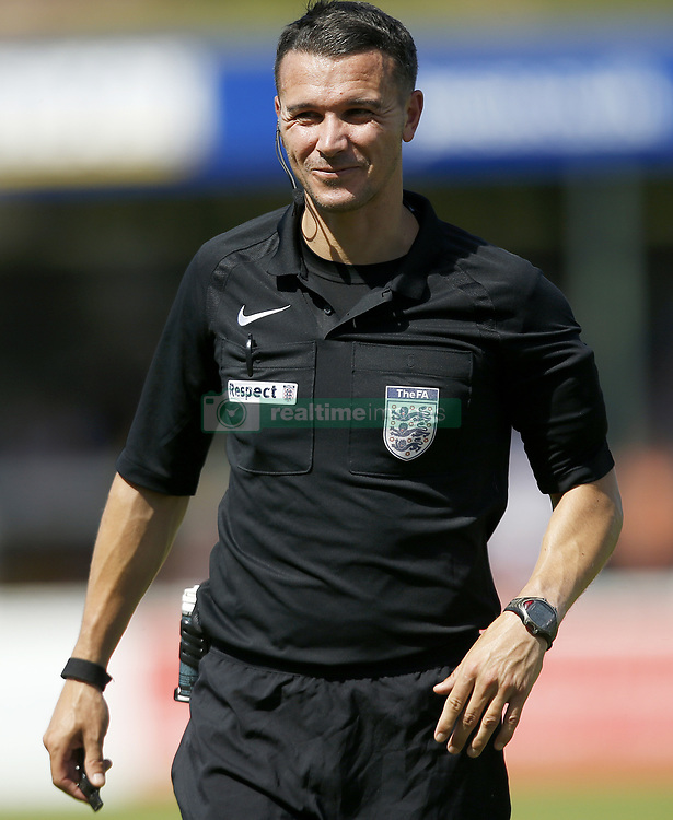 Match Referee Dean Treleaven