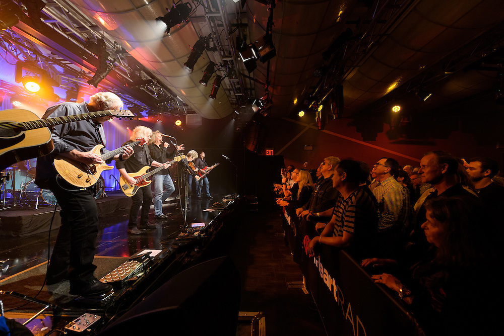 Photo of the band Kansas performing live on stage at iHeartRadio Theater, NYC on October 3, 2016. © Matthew Eisman/ iHeartRadio. All Rights Reserved