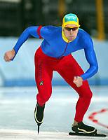 Skøyter, 2-3. november 2002. Norgescup med verdenscup-uttak. Vikingskipet-Hamar. Rune Dahl, Drammen.