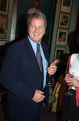 Interior designer ROBERT KIME at a party for interior designer Katherine Ireland held at Marks club, 46 Charles Street, London W1 on 27th September 2004.<br /><br />NON EXCLUSIVE - WORLD RIGHTS