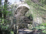 Knocksink, Bridge, Enniskerry, co, Wicklow,  1859, arch, wood, woods, walk, way,