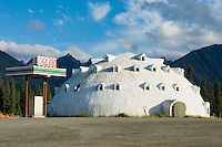 Igloo Village Gas Station Alaska