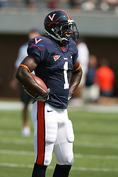 Virginia defensive back Trey Womack (1)....The Virginia Cavaliers defeated the Wyoming Broncos 13-12 in overtime on September 9, 2006 at Scott Stadium in Charlottesville, VA.