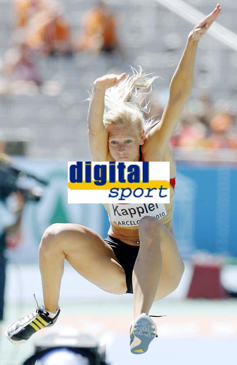 Friidrett, 27. juli  2010 ,<br /> EM Barcelona<br /> <br /> European Athletics Championships<br /> Barcelona<br /> <br /> Bianca Kappler , GER , lengde<br /> <br /> Foto: Anders Hoven , Digitalsport