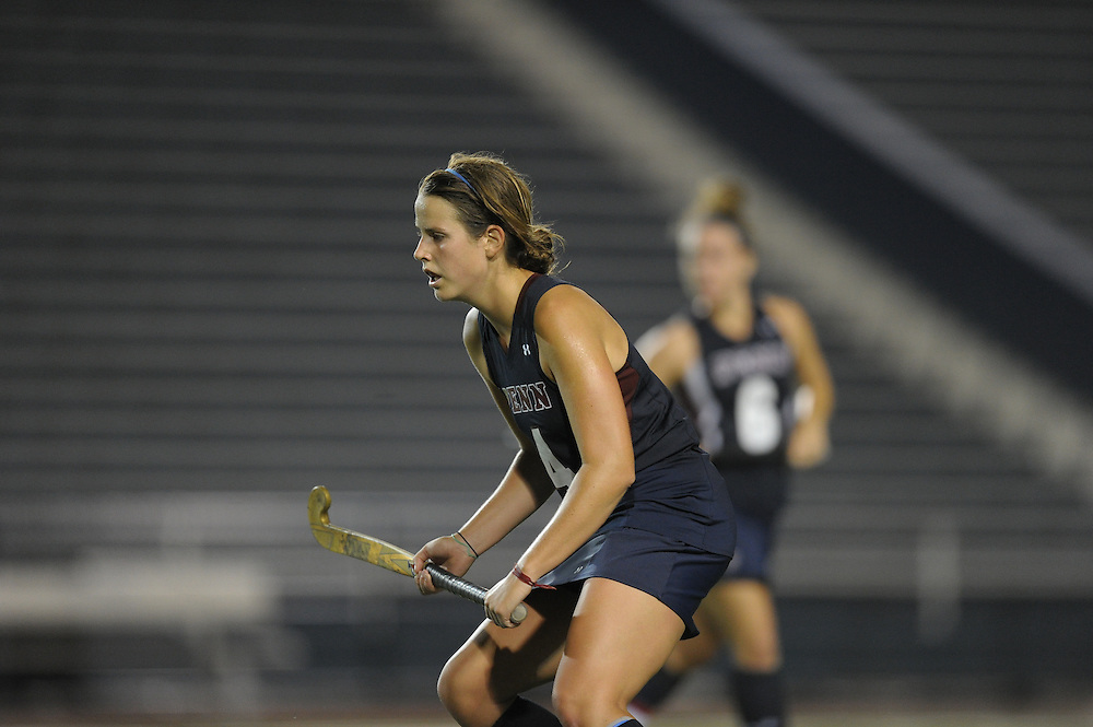 PHILADELPHIA - SEPTEMBER 22:  Field Hockey vs Villanova on September 22, 2010 at Villanova in Villanova, Pennsylvania. (Photo by Drew Hallowell)