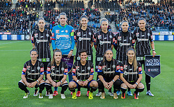 05.10.2016, Merkur Arena, Graz, AUT, CHL, SK Sturm Graz Damen vs FC Zuerich Frauen, Sechzehntelfinale, Hinspiel, im Bild Teamfoto SK Sturm Graz Damen // during the Round of 32, 1st Leg of the UEFA Womens Championsleague between SK Sturm Graz Women and FC Zuerich Women at the Merkur Arena, Graz, Austria on 2016/10/05, EXPA Pictures © 2016, PhotoCredit: EXPA/ Dominik Angerer