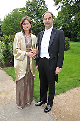 VISCOUNT & VISCOUNTESS MACKINTOSH OF HALIFAX at the Raisa Gorbachev Foundation fourth annual fundraising gala dinner held at Stud House, Hampton Court, Surrey on 6th June 2009.