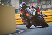 Steve HENEGHAN, IRL, Reactive Parts.com DUCATI PANIGALE V4<br /> <br /> 65th Macau Grand Prix. 14-18.11.2018.<br /> Suncity Group Macau Motorcycle Grand Prix - 52nd Edition.<br /> Macau Copyright Free Image for editorial use only