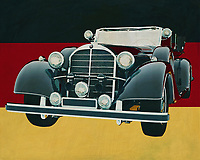 The 1938 Mercedes 770K Limousine was the car that was later used as a limousine not only by the German Armed Forces during the Second World War but later by the American and British as well. The reason was not far away. Soundness, reliability and space were its strong points that all dignitaries appreciated.<br />