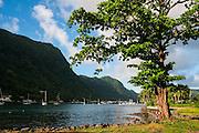 Pago Pago bay, Tutuila island, American Samoa, South Pacific