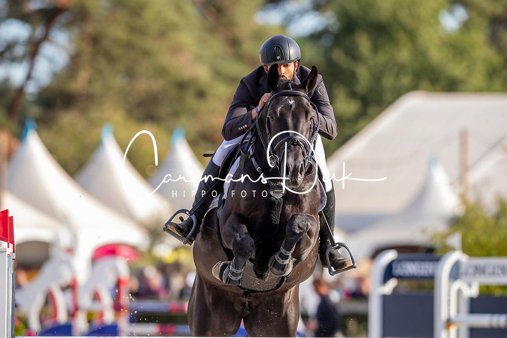 Shk Ali Jmal Nasr Al Nuami, UAE, Joep vd Elsakker<br /> FEI WBFSH Jumping World Breeding Championship for young horses Zangersheide Lanaken 2019<br /> © Hippo Foto - Dirk Caremans