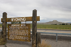 Crowheart Butte, Wyoming