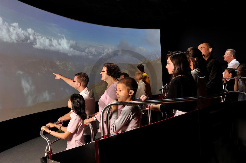 25/06/11 - SAINT OURS LES ROCHES - PUY DE DOME - FRANCE - Vulcania. Centre Europeen du Volcanisme - Photo Jerome CHABANNE