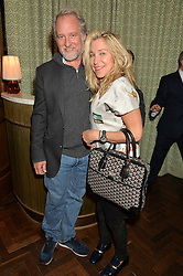 JEFF POE and MAIA NORMAN at a party hosted by Pace Gallery as part of Frieze 2015 held at 45 Jermyn Street, London on 15th October 2015.