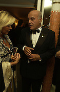 Prof. Sir Magdi Yacoub  and Countess Naomi Marone Cinzano. Chain of Hope 10 th Ball. Dorchester. London. 1 November  2005. ONE TIME USE ONLY - DO NOT ARCHIVE © Copyright Photograph by Dafydd Jones 66 Stockwell Park Rd. London SW9 0DA Tel 020 7733 0108 www.dafjones.com