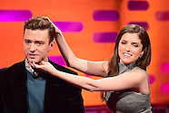 London Daniel Radcliffe, Justin Timberlake, Robbie Williams And Anna Kendrick On The Graham Norton S