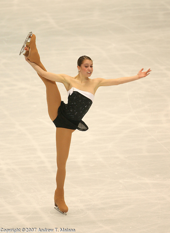 TOKYO - MARCH 24: Alissa Czisny of USA performs during the Women's Free Skating program at the World Figure Skating Championships at the Tokyo Gymnasium on March 24, 2007 in Tokyo, Japan. (Photo by Andrew T. Malana)