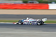 Car No 36 exit's abbey. Silverstone Classic - 66-85 F1- 25/7/10.
