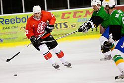 Ivo Jan of Jesenice during Humanitarian hockey derby of legends between Olimpija and Jesenice, on 7 March 2014, in Hala Tivoli, Ljubljana, Slovenia. Photo by Urban Urbanc / Sportida.com