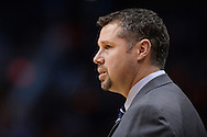 Mar 21, 2016; Phoenix, AZ, USA; Memphis Grizzlies head coach David Joerger watches the game against the Phoenix Suns from the sidelines at Talking Stick Resort Arena. Mandatory Credit: Jennifer Stewart-USA TODAY Sports