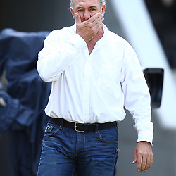 DURBAN, SOUTH AFRICA - APRIL 04: Gary Gold (Sharks Director of Rugby) during the Super Rugby match between Cell C Sharks and Crusaders at Growthpoint Kings Park on April 04, 2015 in Durban, South Africa. (Photo by Steve Haag/Gallo Images)