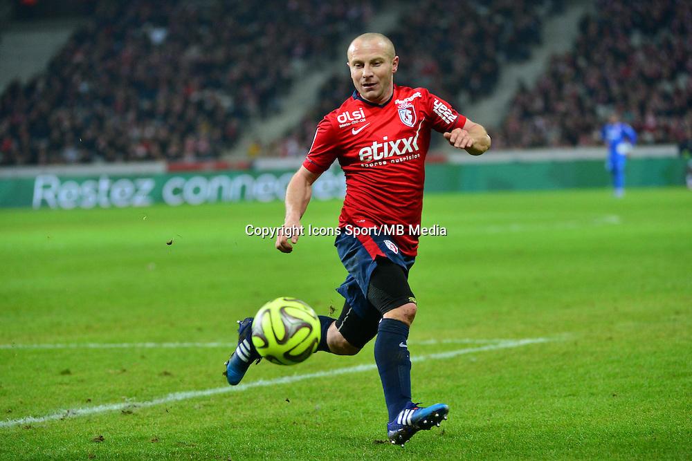 Florent BALMONT  - 24.01.2015 - Lille / Monaco - 22eme journee de Ligue1<br />Photo : Dave Winter / Icon Sport