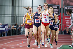 ECAC/IC4A Track and Field Indoor Championships<br /> Mile Run, Briar Brunley, Cornell,